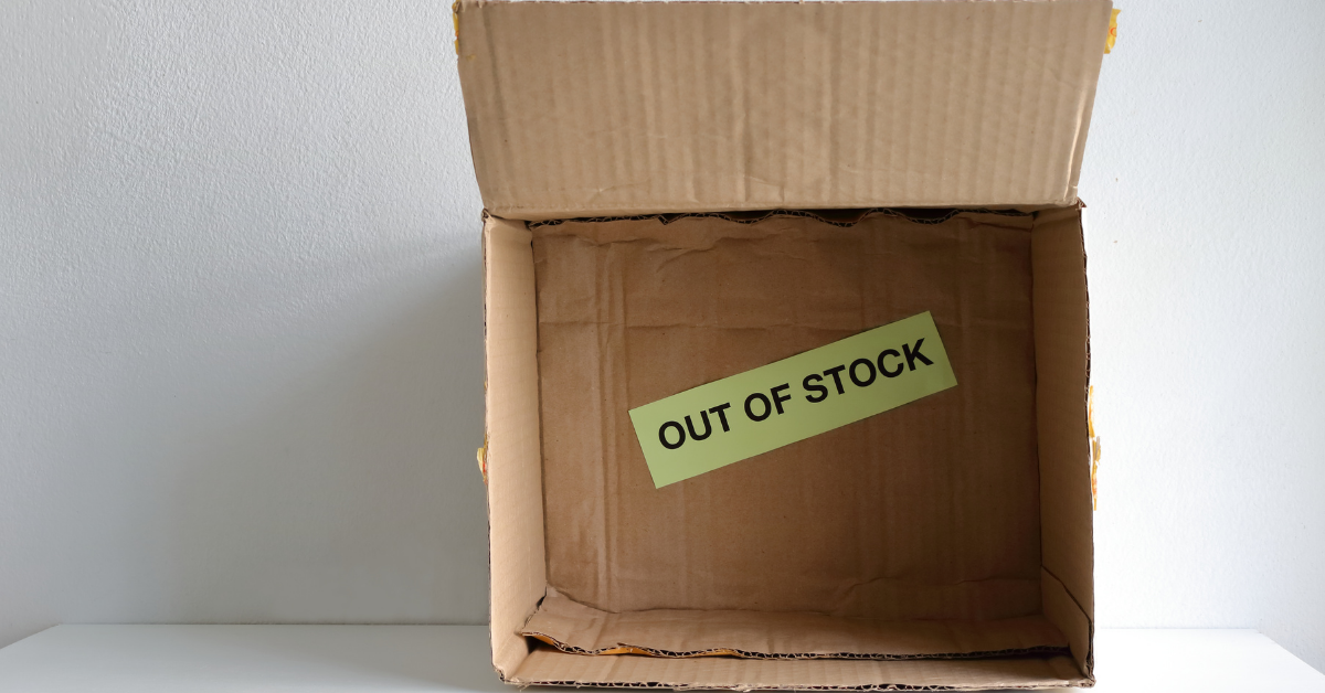 Stockouts and 7 Steps to Avoid them and Jilted Shoppers
